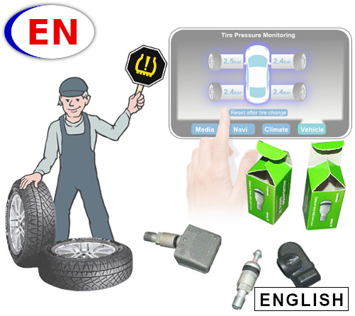 How does TPMS work? Learn the TPMS operating principle with this online training module for mechanics who may come across vehicles with TPMS systems. Learn the basics in TPMS maintenance and repairs, and become a tire pressure monitoring system expert.