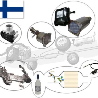 Valmistajat käyttävät useita eri tekniikoita haitallisten dieselpakokaasujen käsittelyyn. Opi lisää teknologiasta, esim. EGR ja DPF, tämän verkkokoulutusmoduulin avulla.