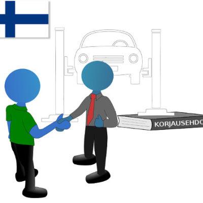 Kun korjaamon toiminta perustuu suomalaiseen lainsäädäntöön tämä tuo turvallisuutta sekä asiakkaalle että korjaamolle. Opiskele korjausehdot helposti ymmärrettävänä verkkokoulutuksena.