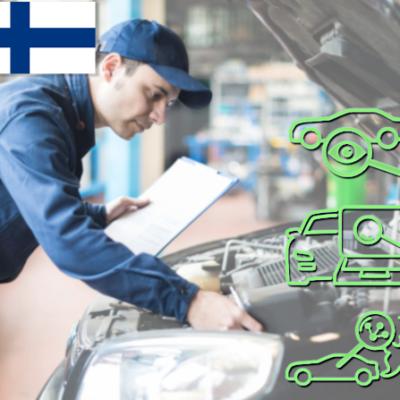 Opi suorittamaan henkilöauton kuntotarkastusta tämän koulutusmoduulin avulla. Moduulin avulla opit miten tarkastat merkinantolaitteet, valot, nestetasot, nestevuodot, sisätilat, y.m. Opit myös mitkä tarkastukset on syytä tehdä lattialla, ja mitkä tarkastukset on syytä tehdä nosturilla työn helpottamiseksi. Moduulissa käsitellään myös saasteenestojärjestelmän tarkastukset, sekä viranomaistarkastukset Suomessa.