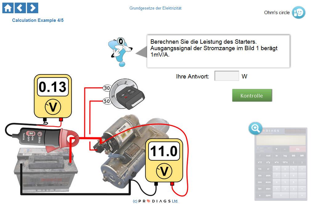Wissen Sie, wie man die Leistung eines Anlassers richtig misst und berechnet? Mit diesem Online-Schulungsmodul lernen Sie, wie Sie die Leistung auf der Grundlage von Spannung und Strom, gemessen mit einer Stromzange, richtig berechnen können.