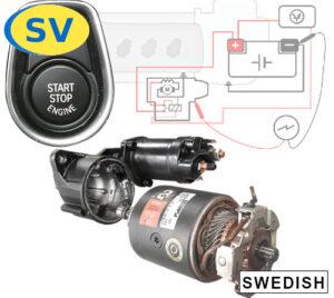 Hur mäta spänningsfallet för startmotorns jordning? Lär dig detta, hur Start-Stop systemet fungerar, vilka komponenter en startmotor innehåller och mycket mer med denna fordonstekniska online-utbildningsmodul.