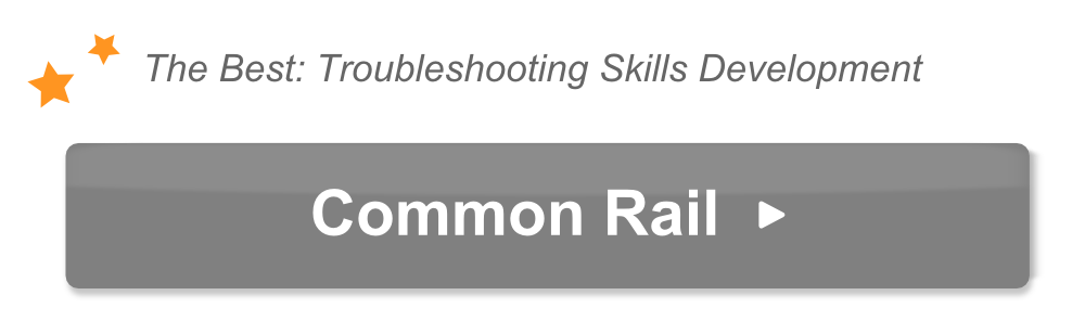 The text The best troubleshooting skills development and common rail
