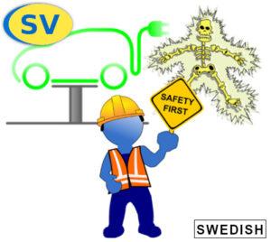 Lär dig om elsäkerhet vid arbete på hybrid- och elfordon. Lär dig om möjliga farosituationer med hybrid- och elektriska fordon, och hur man angriper dessa på ett säkert sätt.